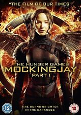 The Hunger Games Mockingjay Part 1 DVD Jennifer Lawrence UK Rel New Sealed R2