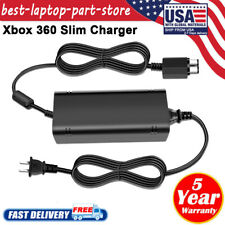 Xbox 360 Slim Power Supply Power Cord Charger 135w 12v 3 Prong AC Adapter