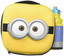 Despicable Me Minions 3D Thermal Lunch Bag with Sports Bottle