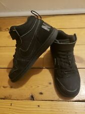 Black Nike high top trainers size 11