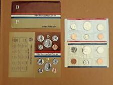 1984 U.S.Mint Uncirculated Coin Set OGP-Philadelphia and Denver Mints + Document