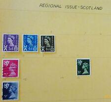 Scotland Great Britain Stamp Set