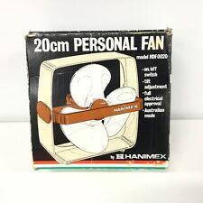 Vintage Hanimex 20cm Personal Fan Model HDF0020 #454
