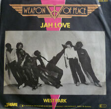"7"" 1981 REGGAE RARE MINT- ! WEAPON OF PEACE : Jah Love"