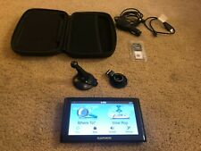Garmin nüvi 65Lmt Mountable Gps Unit including carrying case and accessories