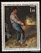 FRANCE - Yvert 1672 - TABLEAU PEINTURE MILLET -Timbre  neuf**