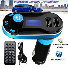 5 in1 Bluetooth Car FM Transmitter Wireless Radio Adapter USB Charger Mp3 Player