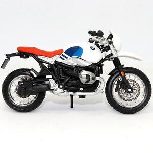 BMW R NineT Urban GS 1:18 Scale Die-cast Model Toy Motorcycle Motorbike Bburago