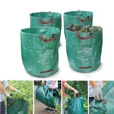 Garden Waste Bag Waterproof Refuse Heavy Duty Reusable Leaf Bin Grass Large Sack