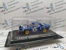 Lancia Stratos  rally  monté carlo  - B.Darniche   1979 - 1:43