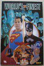 Superman Batman World's Finest  GATES, IGLE & NOTO éd Panini Comics