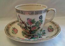 Vintage Grindley Teacup & Saucer in Indian Tree Pattern 1940/1950's