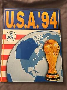 PANINI LIKE USA 94 WORLD CUP 1994 COMPLETE STICKERS ALBUM RARE