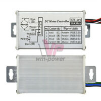 12V 24V 20A PWM DC Motor Stepless Variable Speed Control Controller Switch