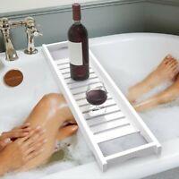 Bathtub Caddy Bath Tub Rack Tray Bathroom Cloth Book/Pad/Tablet Holder U
