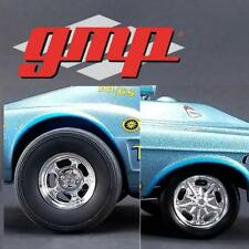 GMP 18886 GASSER WHEELS AND TIRE SET 4 PACK FROM 1967 OHIO GEORGE MALCO CAR 1:18