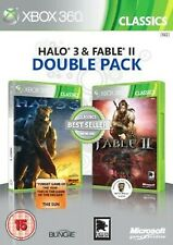 Halo 3 y Fable II 2 Doble Pack (Clásicos) XBOX 360 Video Juego UK release