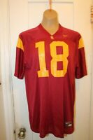 NIKE Team USC Trojans #18 College NCAA Football Jersey Size Youth XL