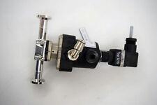 GEMU Type 605 Diaphragm Valve & Electrical Position Indicator 1215 f/ Amersham