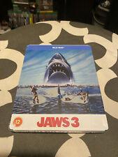 Jaws 3 (1983) Steelbook (3D Blu-ray, Blu-ray) Zavvi Uk New Rare Oop