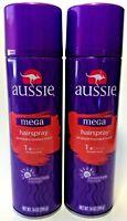 (2 Pack) Aussie Mega - Flexible Hold Hair Spray 14 oz each