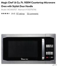 NEW Magic Chef 1.6 cu. ft 1100W Microwave Oven