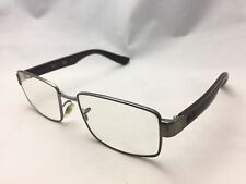 e4b059552986a Ray Ban Gun Metal   Brown Eyeglasses RB6319 2838 53-17 140 RX For Parts