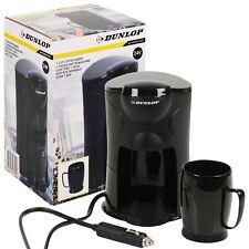 Dunlop 24v Travel Coffee Machine Maker Cigarette Plug Car Van Truck Camper Auto