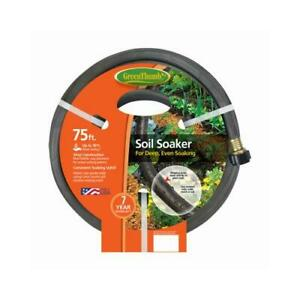 Green Thumb Soil Soaker Hose, Vinyl, 75-Ft.