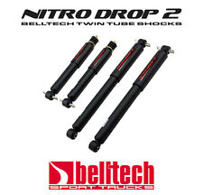 "J 2/"" DROP Front//Rear Shocks Struts 2007-13 CHEV Silverado GMC1500 1450LL"