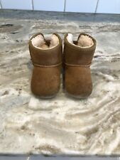 Ugg Australia Toddler Baby Girl Brown Jesse Bow II Booties Size 4/5 Boots Pink