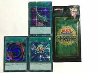 YuGiOh Konami 20th Anniversary Secret Selection VP19-JP001, 002, 003 Japanese