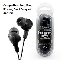JVC Ecouteurs intra-auriculaires commande à distance et microphone Neuf