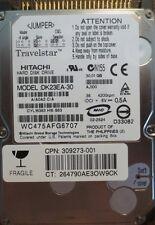 "Hitachi DK23EA-30 A/A0A2 C/A AJ100 30gb 2.5"" IDE/ATA Laptop HDD"