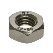 Pack Size 10 Stainless Marine G316 Hex Standard M6 (6mm) Metric Coarse Nut