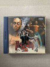 The House of the Dead 2 mit Anleitung (Deutsche Version) für Sega Dreamcast
