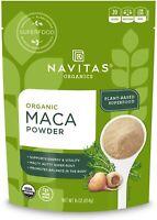 Navitas Organics Maca Powder, 16 oz. Bag, 90 Servings — Organic, Non-GMO Exp7/22