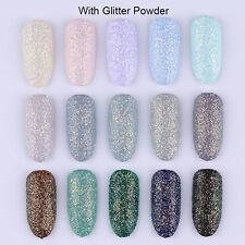 15Boxes Drift Sand Soak Off UV Gel Polish With Nail Glitter Powder Born Pretty