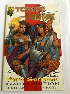 Tomoe Witchblade Fire Sermon Avalon Edition 24/100 signed with COA brand new