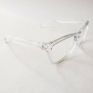 Oakley Frogskins Polished Clear White Icons Replacement Frame Only Authentic