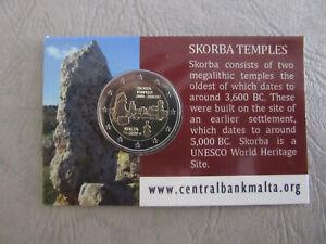 2-Euro-Gedenkmünze Malta 2020 - Tempel von Skorba (CoinCard)