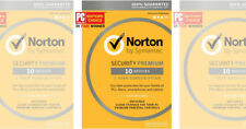 Norton (Internet) Security Premium 2020 5 To 10 Devices W/Backup & Family Care