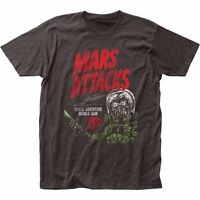Mars Attacks Space Adventure Licensed Adult T Shirt