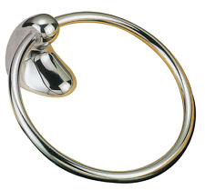 Gallery Tapware Picasso Towel Ring Bathroom Accessories WHITE