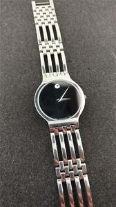 UNISEX MOVADO MUSEUM STAINLESS STEEL 84 62 1881