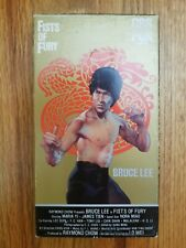 Fists of Fury Bruce Lee Lo Wei 1990 VHS Video RARE ORIGINAL Martial Arts Bangkok