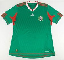 Vintage Adidas 2010 Mexico National Team Soccer Jersey Size Mens L