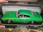 PONTIAC+GTO+JUDGE+1969+Green+1%3A24+Diecast+Car+new+in+Sealed+Box%2C+by+MOTOR+MAX%C2%A0