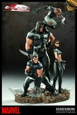 SIDESHOW EXCLUSIVE NEW! X-FORCE DIORAMA STATUE WOLVERINE X-23 X-MEN Bust MARVEL