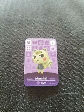Animal Crossing Amiibo card Marshall